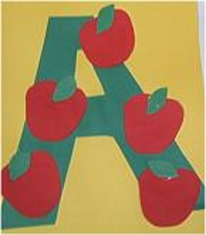 letter a craft for preschool