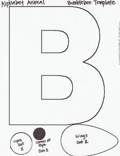 Letter b craft templates preschool crafts letter b craft templates spiritdancerdesigns Images