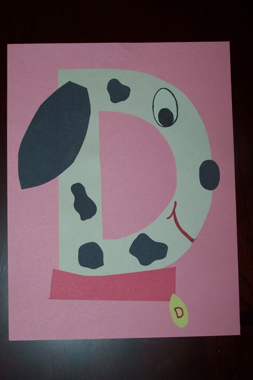 Letter d crafts for preschool preschool and kindergarten for Preschool art and craft