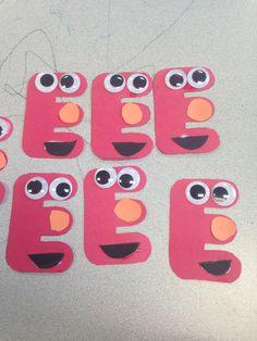 letter e craft idea
