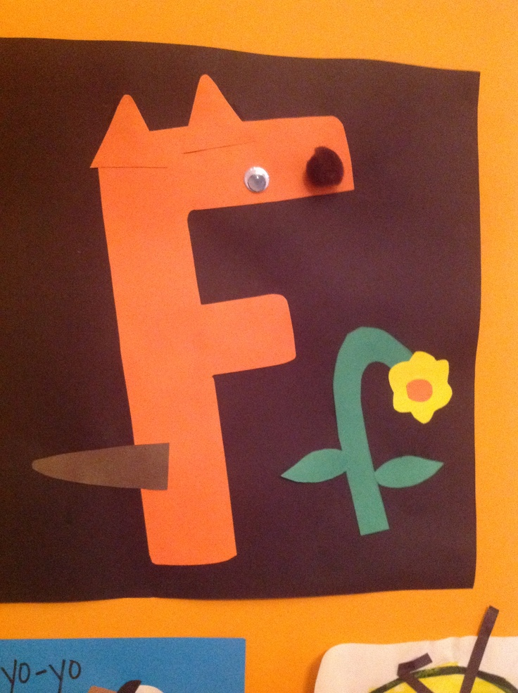 letter f craft for kids