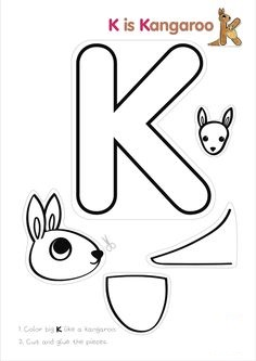 letter k activity
