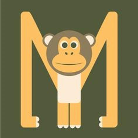 letter m crafts for monkey