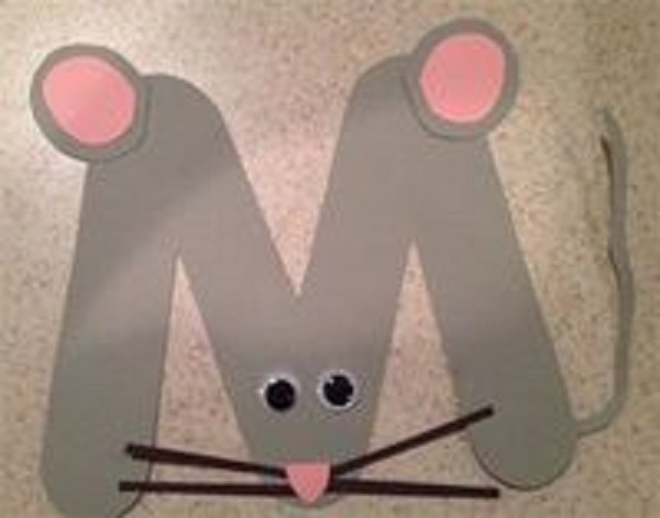 Letter M Crafts - Preschool and Kindergarten