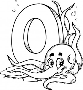 letter-o coloring pages for preschool,