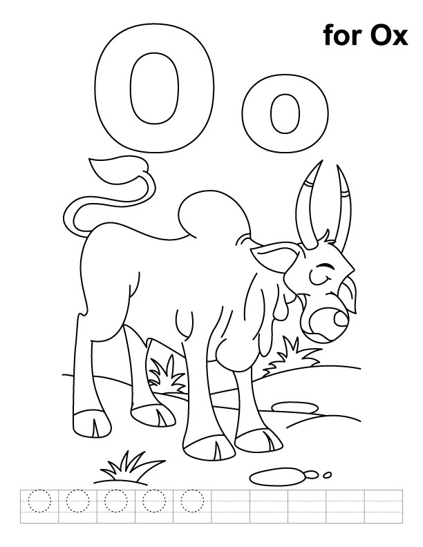 Letter O Coloring Pages For Preschool Preschool Crafts