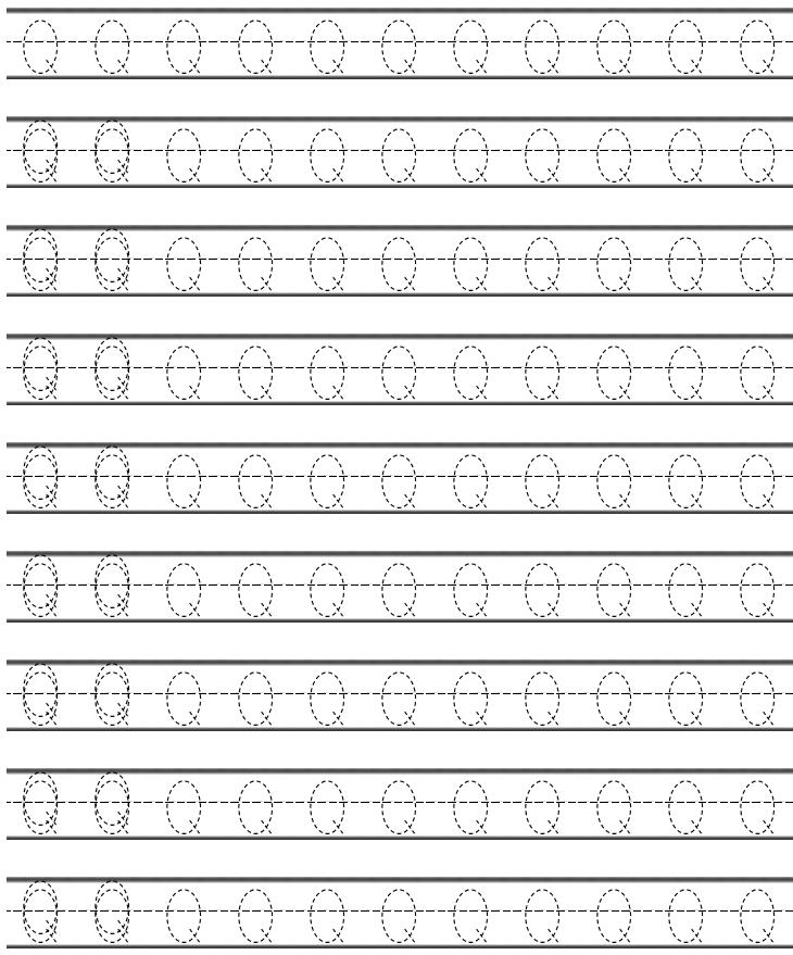 letter q handwriting worksheets for kindergarten preschool crafts. Black Bedroom Furniture Sets. Home Design Ideas