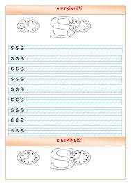 letter s worksheets for preschool