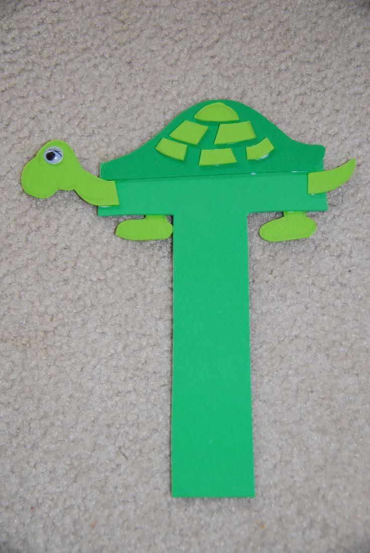 Letter T Crafts on Letter F Crafts For Preschoolers