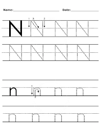 letter-uppercase-and-lowercase-n-worksheet