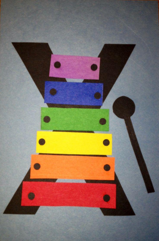 letter x crafts