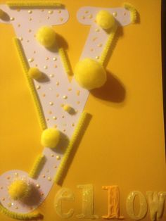 letter y crafts ideas
