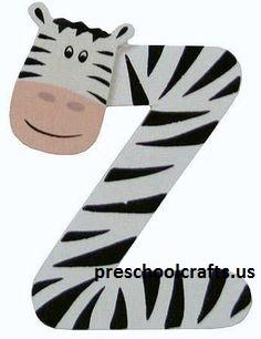 letter z crafts for kids