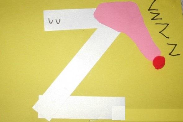 letter z crafts preschool