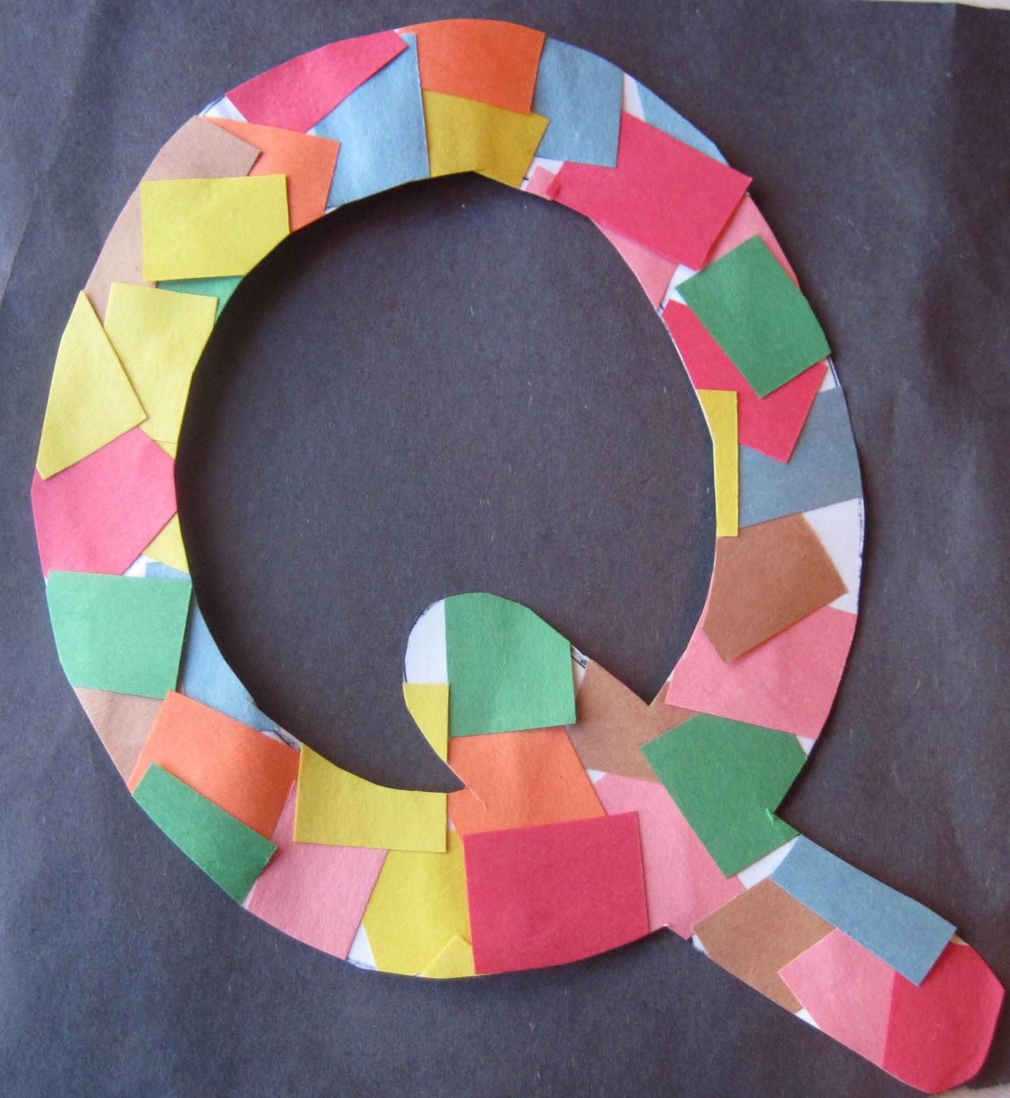 related posts letter v crafts
