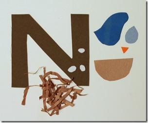 letter n crafts preschool and kindergarten. Black Bedroom Furniture Sets. Home Design Ideas