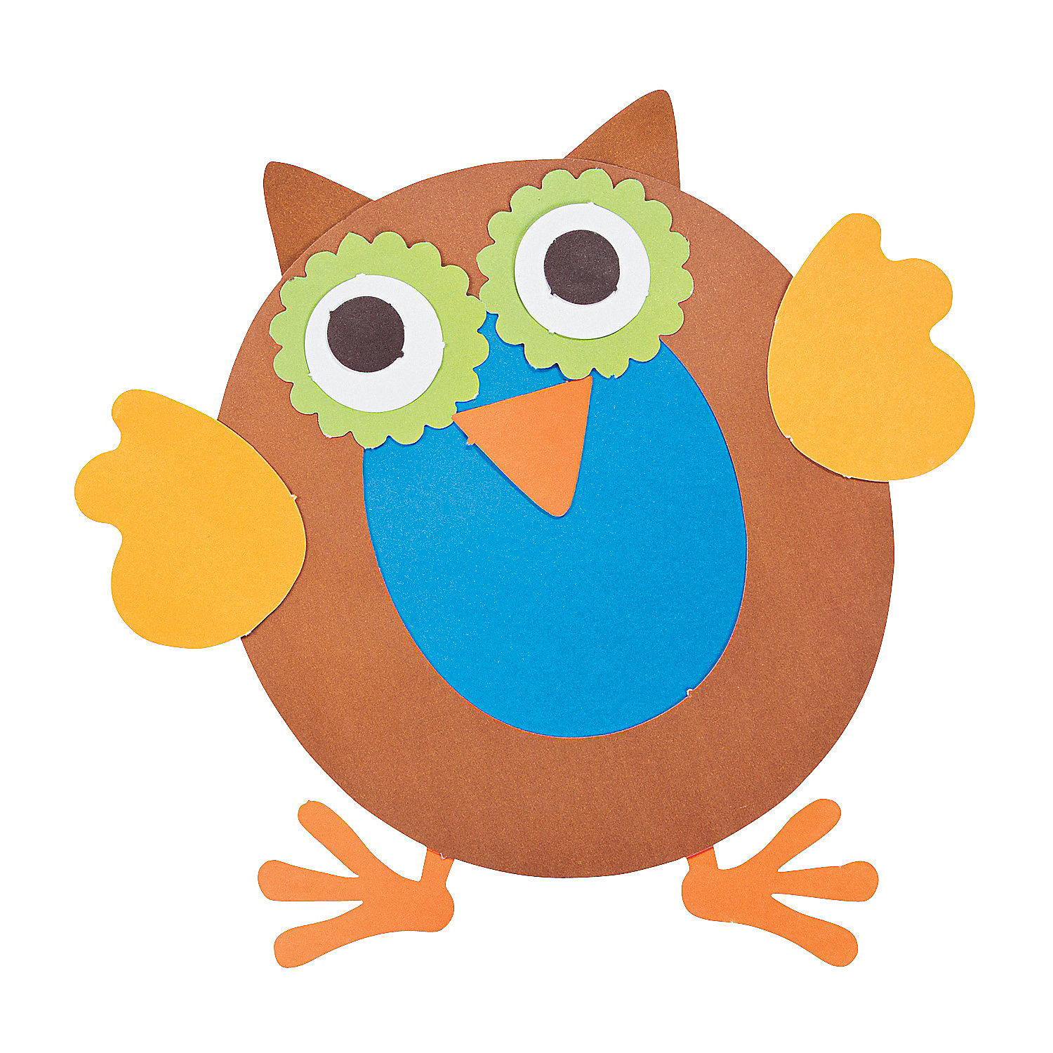 o is for owl craft