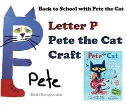 p craft for preschool