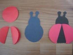 ludy bug paper folding crafts