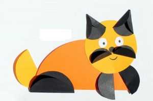 cat paper folding activity