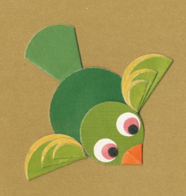 Paper folding activities for flying bird preschool crafts for Paper folding art projects