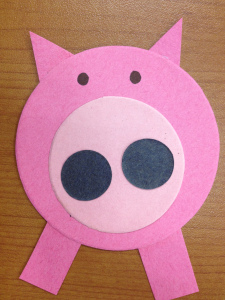 pig template for preschoolers - letter p crafts deas for preschool preschool and