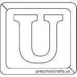 preschool alphabet letter u worksheets homeworks for kids