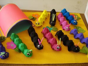 preschool caterpillar crafts