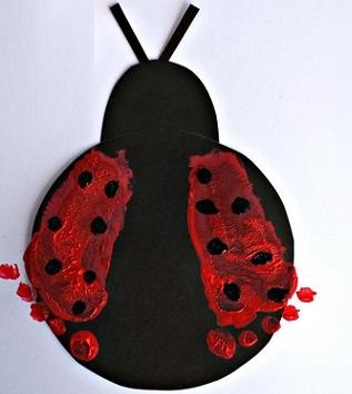 preschool-foot-print-ladybug-activity