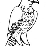 printable Eagle coloring pages ideas for preschool