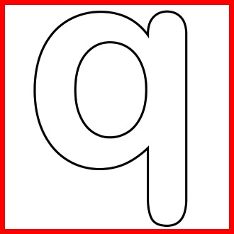 printable q template