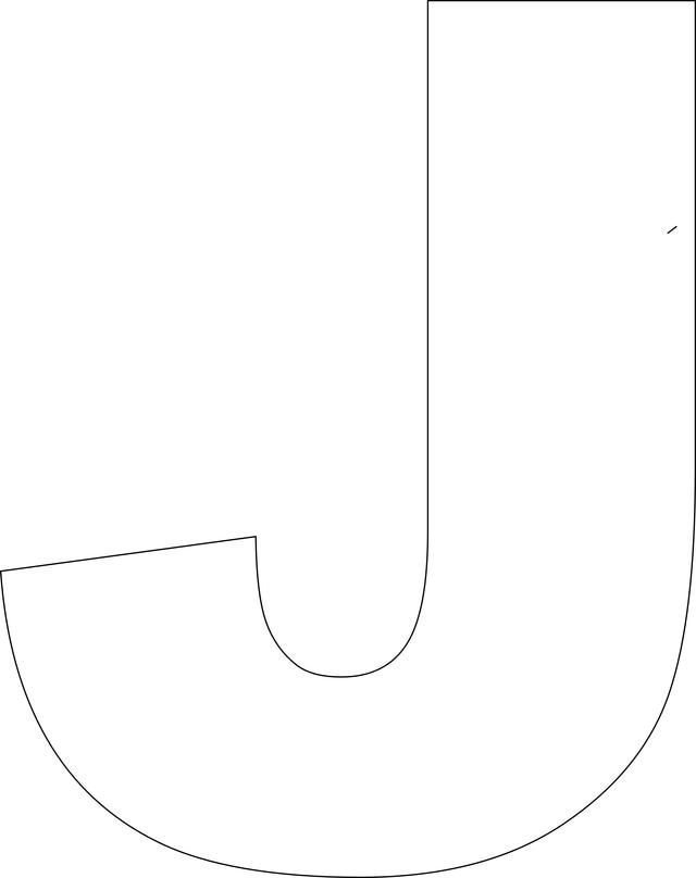 Letter J Crafts - Preschool and Kindergarten