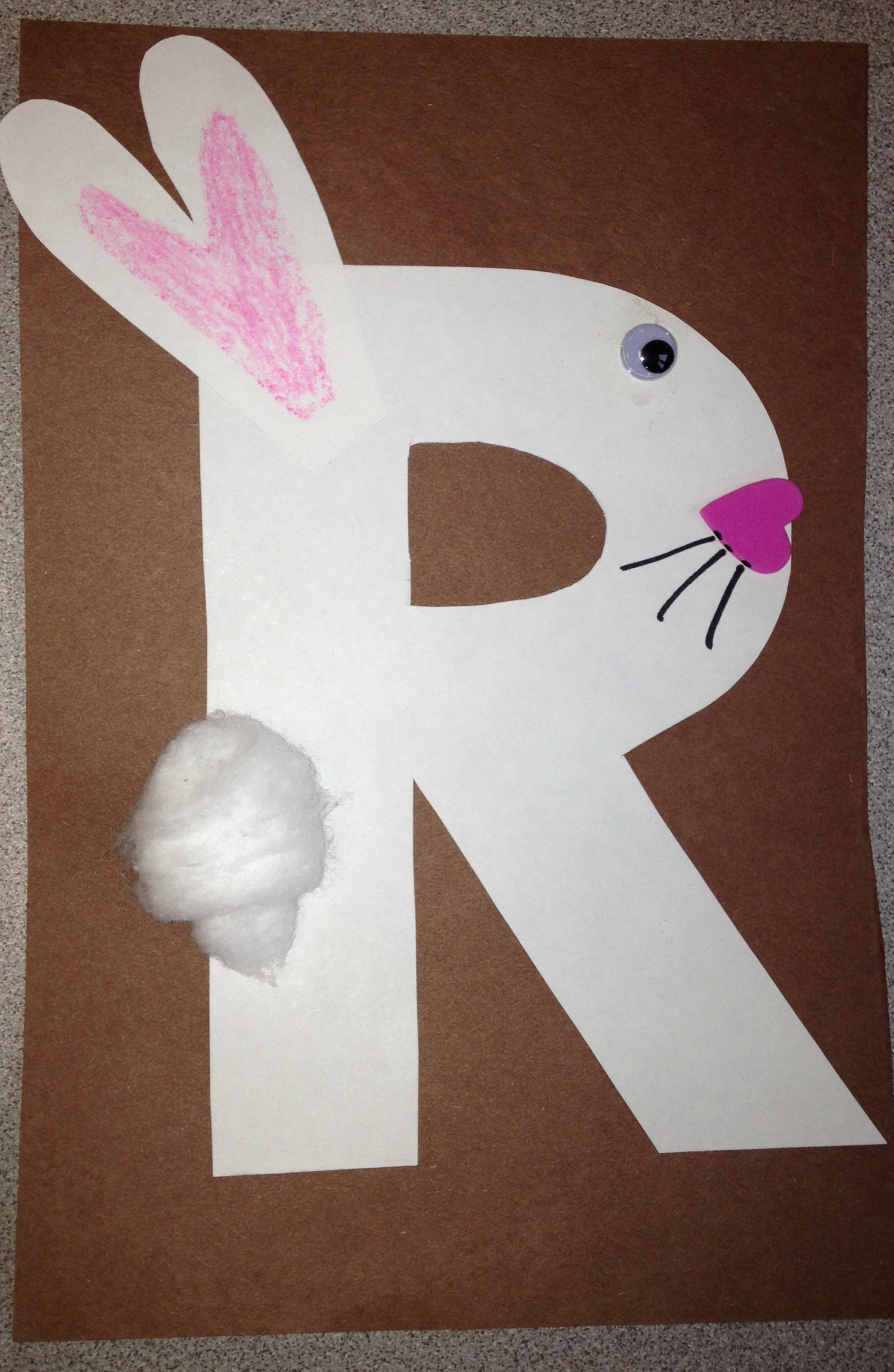 Letter R Crafts Preschool crafts