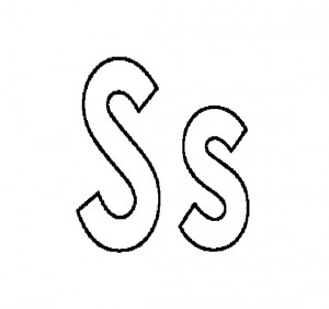 s coloring pages, letter s coloring pages, letter s ,