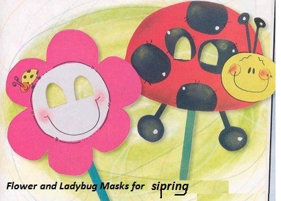 sipring-flower-ladybug-mask-from-paper-and-stick