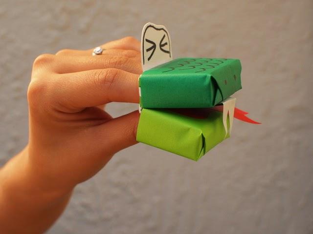 snake craft idea projeckt
