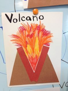 V Is For Volcano Letter V Crafts...