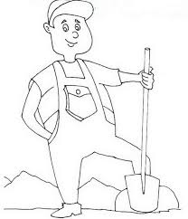 labor day free coloring page