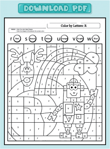 worksheet-language-color-lower-r