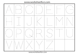 z worksheets for preschool