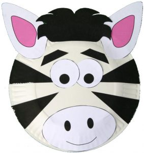 zebra plate craft