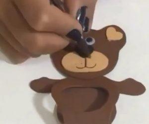7-funny bear craft