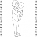 Download free printable mother's day colouring pages for preschool