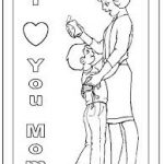 Download mother's day coloring pages for preschool