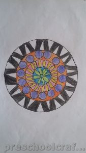 Mandala coloring pages ideas for preschoolers