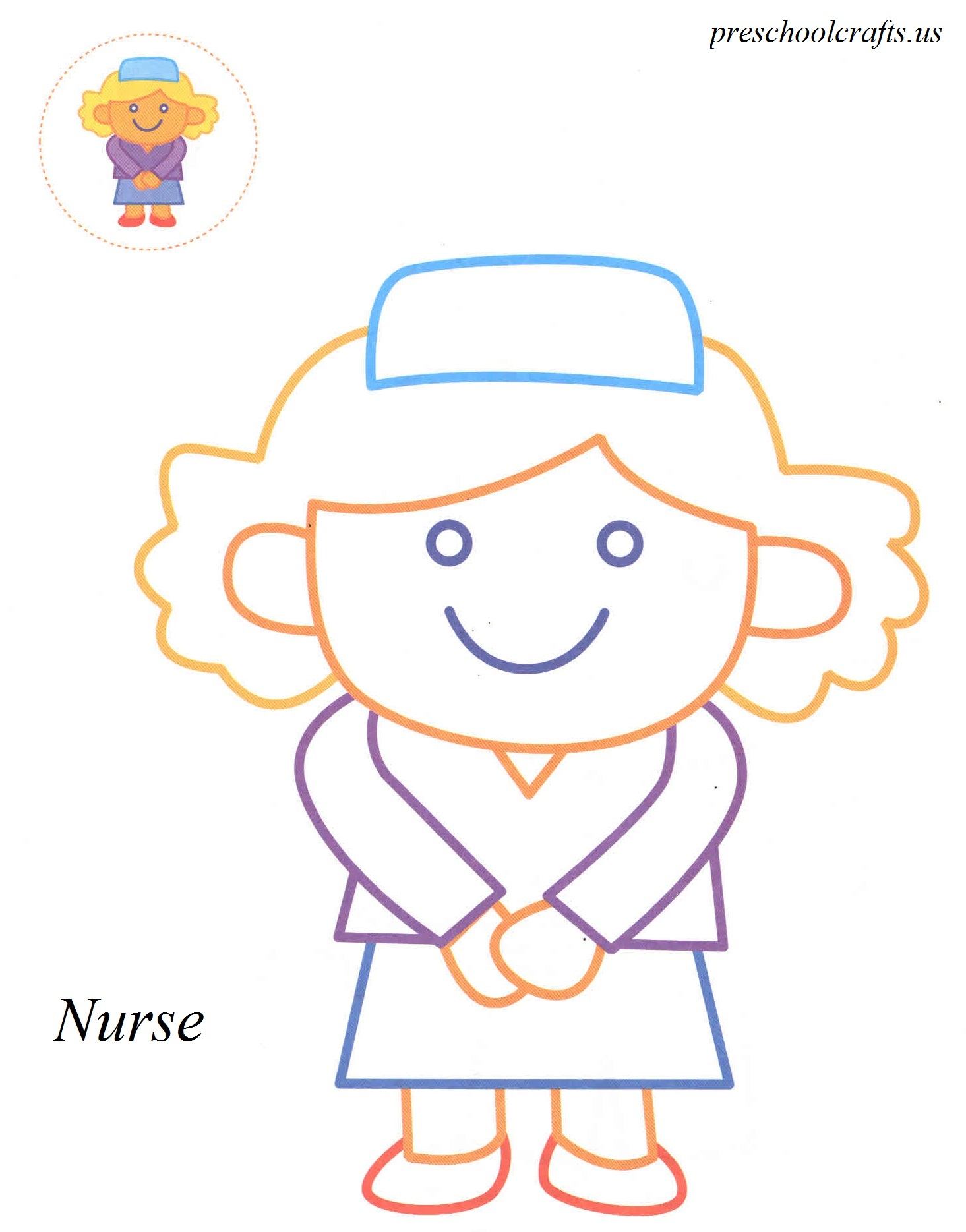 fresh nurse coloring pages best and awesome coloring ideas. nurse ...