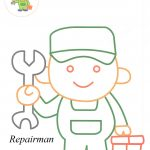 Repairman coloring pagesRepairman coloring pages