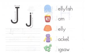 alphabet-capital-and-small-letter-J-j-worksheet-for-kids