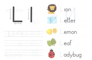 alphabet-capital-and-small-letter-L-l-worksheet-for-kids