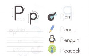 alphabet-capital-and-small-letter-P-p-worksheet-for-kids